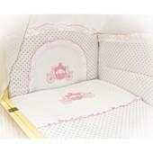 Комплект спального белья в детскую кроватку 60х120 см