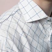 Брендовая стильная рубашка  English Laundry р.М