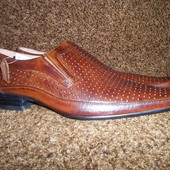 Кожаные туфли Jierda р.44