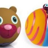 Распродажа -  Набор игрушек резиновых Улитка + Медвежонок от Oops (Италия)