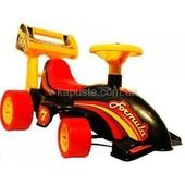 Акция Каталка для гонщиков Формула-1, Технок с багажником, есть доставка