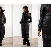 Пальто женское дутое +++. Размеры :48-50 (2с