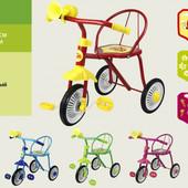 Детский трехколесный велосипед