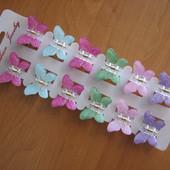 заколочки-бабочки