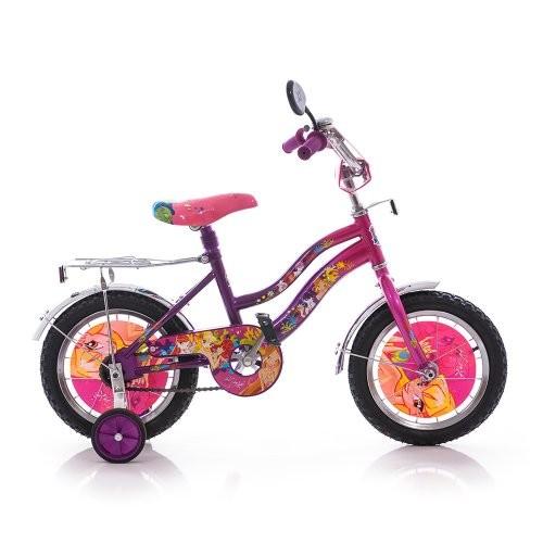 Акция мустанг винкс mustang winx 12 14 16 дюймов для девочки двухколесный велосипед фото №1