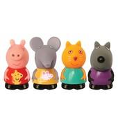 Набор игрушек-брызгунчиков Peppa - Пеппа и друзья(4 фигурки)