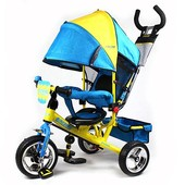 Детский трехколесный велосипед  с надувными колесами