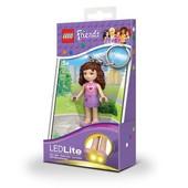 Брелок-фонарик Lego Friends. Оливия lgl-ke22 o-6-bell