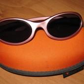 Спортивные солнцезащитные очки для девочки 6-8 лет