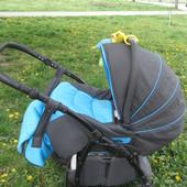 Универсальная коляска 2в1 Tutis Zippy New Natural c усиленной рамой