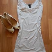 Пудровое платье H&M. Размер Л.