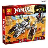 Конструктор Нинзя 79347 Lele Ninja внедорожник с супер системой маскировки
