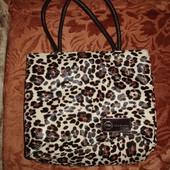 Большая сумка леопардовой расцветки