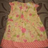 Плаття платье блузка туніка туника Marks&Spencer на 1 - 1.5 р ріст 83 см
