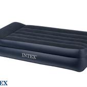 Высокая односпальная надувная кровать Intex 66721