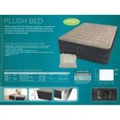 Высокая двуспальная надувная кровать Intex 67710