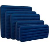 Велюр матрац синий сред 152-203-22 см