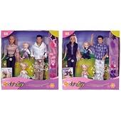Распродажа - Набор Счастливая семья  (4 куклы) от Defa