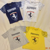Футболки,поло д/мальч 2-5 лет Ferrari,Burberry,трикотаж,майки Адидас