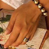Стильный браслет шамбала Золотой