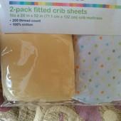 Простынки в кроватку для малышей