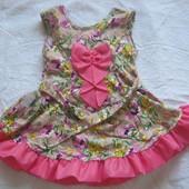 Летние платья сарафаны для девочек Балеринка