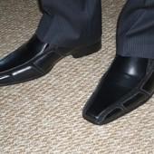 Продам туфли мужские 41р. черные новые