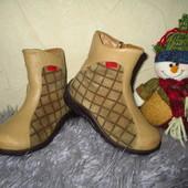 Стелька 15,2см Кожаные деми ботинки Kickers Франция