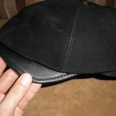 100% замша мужская кепка