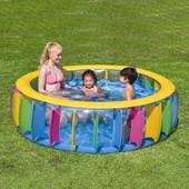 """Детский надувной бассейн """"Радуга"""" BestWay: 183х61 см (BestWay 51038)"""
