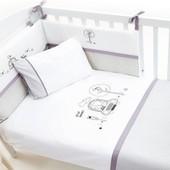 Детский постельный комплект Funna Baby Beep Beep 6 предметов