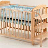 Продам детский манеж-кроватку Geoby LMY624N
