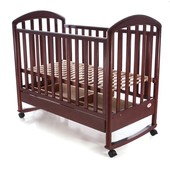 Детская кроватка Baby Care BC-900bc темная орех