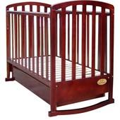 Детская кроватка Casato BC-500 темная орех