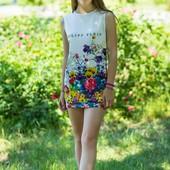 Брендовые платья для девочек  при заказе подарок