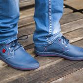 оригинальные мужские туфли кожа