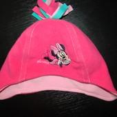 Продам  флисовую деми шапку George   50-52 см состояние новой