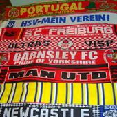 Фірмові футбольні шарф.