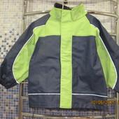 Непромокаемая куртка-дождевик на мальчика, р.122