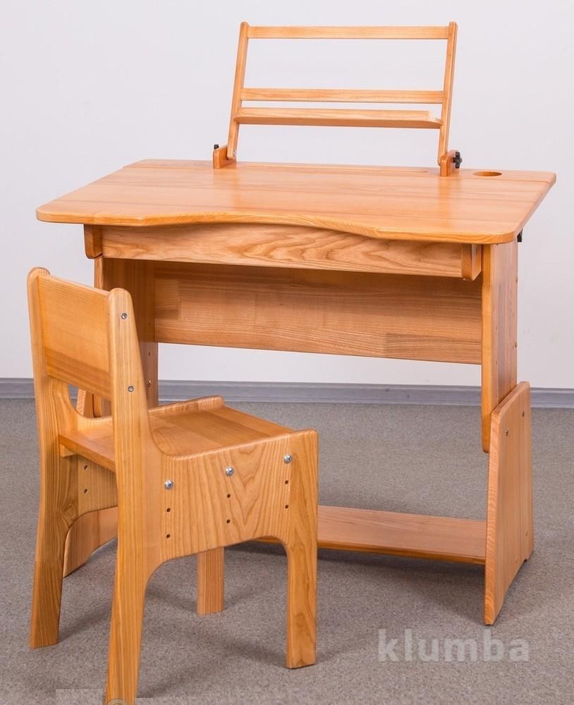 Стол школьника из натурального дерева, 2250 грн. парты столы.