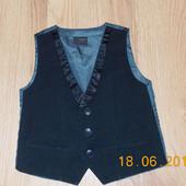 Стильная жилетка Next для мальчика 12-18 месяцев, 86 см