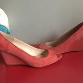 Туфли новые,замш натуральный, рр 38