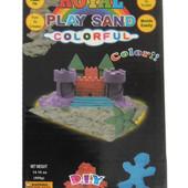 Кинетический песок для творчества Royal Play Sand, разноцветный