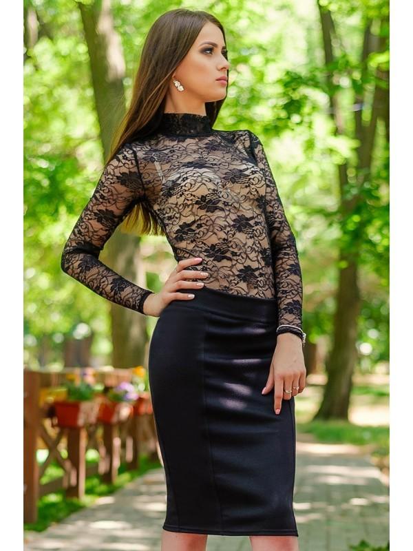 f1a11eb3ecc До 60 размера!!! трикотажная прямая юбка мадонна фото №2