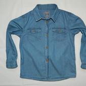 Джинсовая рубашка Rebel 5-6 лет