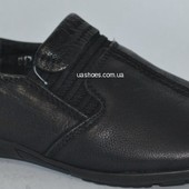 Детские туфли для мальчика кожаные р.27,28