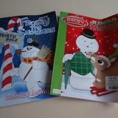 Раскраски+ Active book (англ.)! Новогодние!