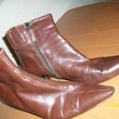 Ботинки полуботинки 37р. Кожа