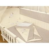 Детское постельное белье и Конверт на выписку- 8 ед. Вышивка Песик