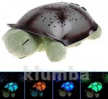 Проектор звездного неба черепаха, ночник с музыкой фото №1